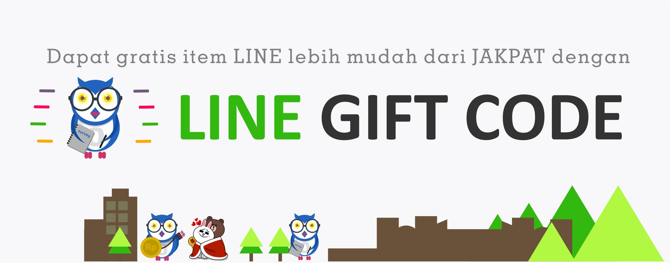 New dapat item line lebih mudah dengan line gift code jakpat