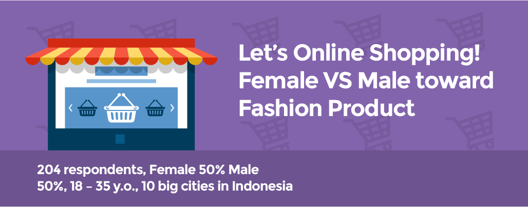 Female Vs Male Toward Fashion Product