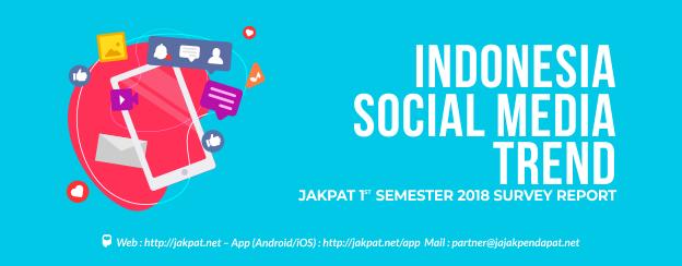 Indonesia Social Media Trend 1st Semester 2018 - JAKPAT