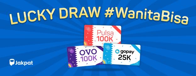 lucky draw #WanitaBisa - blog